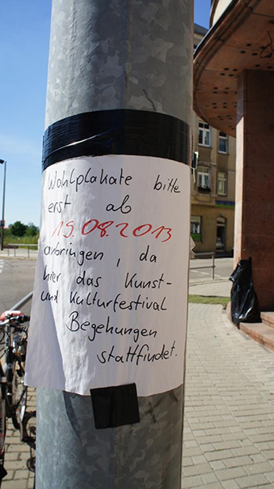 schon fast eine Intervention im Stadtraum :: Plakatfreier Sonnenberg